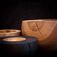 Woodturned Objects by Maciek Gasienica Giewont