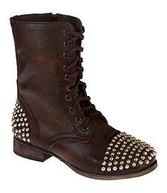Steve Madden Tarnney StudDetail Boots #Dillards