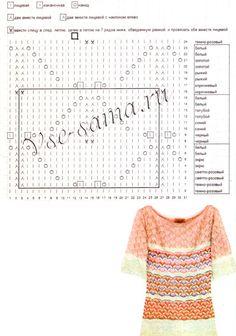 View album on Yandex. Knitting Stitches, Knitting Patterns, Zig Zag Pattern, Missoni, Le Point, Views Album, Chevron, Knit Crochet, Yandex Disk