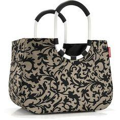Reisenthel Baroque Taupe Loop Shopper Tote Bag