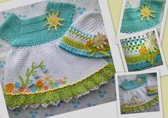 Darling Sun Dress & Hat!