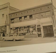 Desoto Plymouth close to where Coreleones is now Tesdel Motors was here back in the 60's