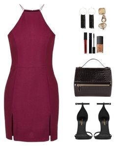 """Wedding day"" by chicca940 ❤ liked on Polyvore featuring Topshop, Yves Saint Laurent, Bebe, Smashbox, Gucci and NARS Cosmetics"