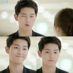 Find images and videos about kdrama, love him and song joong ki on We Heart It - the app to get lost in what you love. Song Joong, Song Hye Kyo, Asian Actors, Korean Actors, Korean Dramas, Descendants, Soon Joong Ki, Decendants Of The Sun, Sun Song