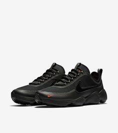 good f8e36 adc08 Nike Air Zoom Spiridon  Black   Bright Crimson