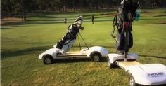 "Skateboard - both manual & electric for golfers. Videos on the site link. Golf - ""A good walk spoilt""."