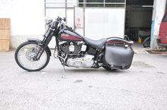 Harley Davidson Softail Bad Boy Springer - Cerchio 80 Raggi