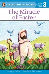 "Read ""The Miracle of Easter"" FREE from @WeGiveBooks. This easy-to-read book with gentle illustrations tells the well-known Bible story of Easter. It's a perfect story for children who are learning about their religion and starting to read on their own."