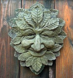 WISE OLD GREEN MAN All Green Men are wise of course, but this one seems to have a special quality of wisdom, goodwill, and an extra indefinable something which makes him so popular.