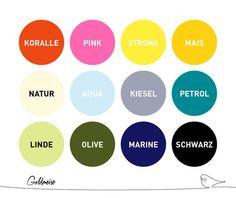 Statement Ketten - Statement-Kette 'Ronda', handgefärbtes Seil - ein Designerstück von Goldmeise bei DaWanda