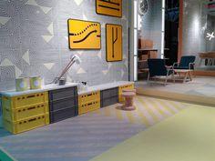 Vives Azulejos y Gres | Cersaie 2015 | Colección Fusión | #vivesceramica #cersaie #hexagonos #tiles #home #decoration