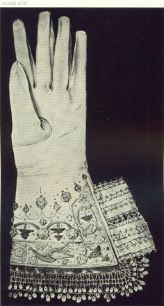 Glove belonging to Mary Queen of Scots. Worn the day of her execution.