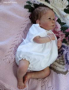 Lily by Linda Murray & Ultra Suede Cloth Body & Belly Plate - Online Store - City of Reborn Angels Supplier of Reborn Doll Kits and Supplies