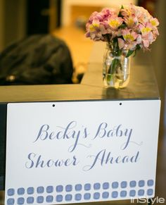 Go Inside Rebecca Minkoff's Chic Baby Shower - Becky's Baby Shower Ahead from #InStyle