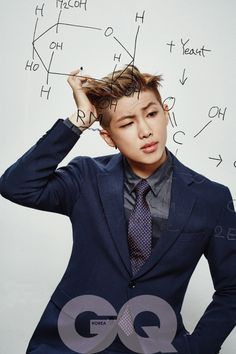 Rap Monster | Problematic Men On GQ Korea Magazine | There is no reason why this idol is so attractive