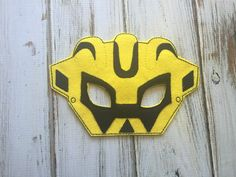 A personal favorite from my Etsy shop https://www.etsy.com/listing/279288126/transformer-mask-rescue-bot-mask-bumble