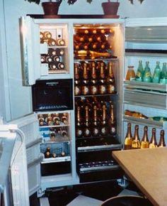 Garden Lodge, Queen Art, Vintage Champagne, Queen Freddie Mercury, Rock Legends, Liquor Cabinet, House Design, Bottles, Metal Gear