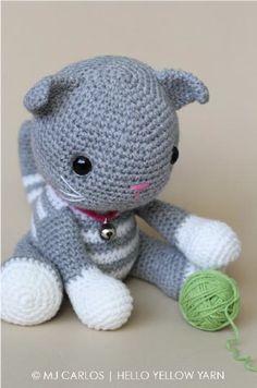 Kedi Abby Tabby Yapımı Free Pattern Amigurumi - Pera Craft