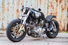 Yamaha Virago 1100 by Dogma Motorcycles. #custombike @yamahamotoreu