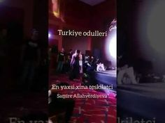 Turkiye odulleri Azer Axsamin teqdimati ilin en pesekar xinaaparicisi mukafati Samire Allahverdiyeva - YouTube