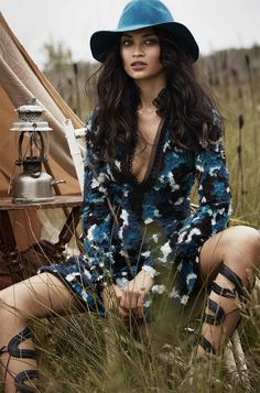 The Wild One: Shanina Shaik By Simon Upton For Harper's Bazaar Australia March 2015