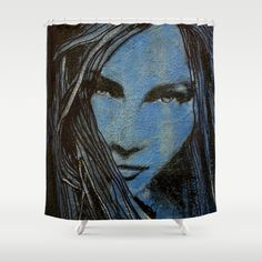 """""""GYNE"""" - shower curtain by ARTito"""