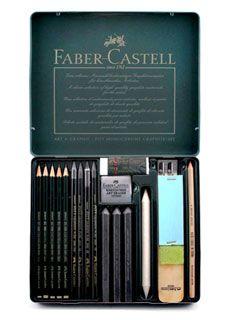 Faber-Castell Pitt Monochrome Graphite Set