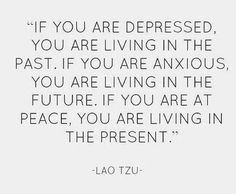 Live in present