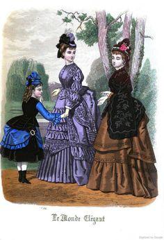Le Monde Elégant 1874 September
