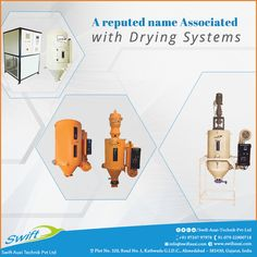 A reputed Name Associated with Drying systems   #HotAirDryerManufacturer  #HotAirDryerSuppliers  #DEHumidifierManufacturer #DEHumidifierSuppliers #CrystallizerManufacturer  W:http://www.swiftauxi.com/   M:+91 97247 97978