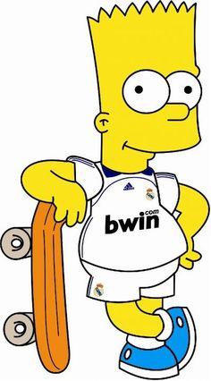 Know Thy Madridista – Edgardo Guerrero Simpsons Drawings, Bart Simpson, Minions, Soccer, Football, Fictional Characters, Fan, Dragon Ball, Google
