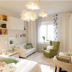 Ikea small Space Livingroom