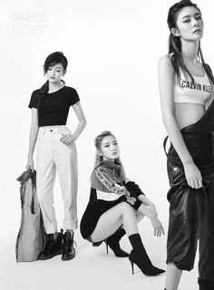 W/ other ROCKET GIRLS members Girl Drawing Pictures, Cosmic Girls, Ulzzang, Girl Group, Leather Skirt, Photoshoot, Asian Beauty, Pop, Celebrities