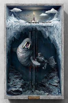 Бронза «Каннских львов» — 2015 Изображение: Publicis Shanghai / canneslionsarchive.comGreen Peace против бурения в Арктике.
