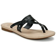 These cute #leather #sandals from @UGG Australia are simple and comfy! Now available on Spartoo UK! http://www.spartoo.co.uk/UGG-W-MIREYA-x214235.php #shoesforsummer #flipflops #shoes