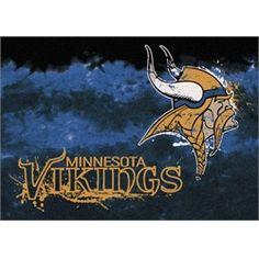 Minnesota Vikings Rug Team Fade Mat