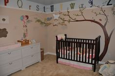 This is the nursery I designed for my beautiful baby girl