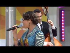 Caro Emerald performing A Night Like This @ ZDF Fernsehgarten in Germany