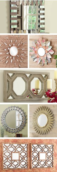 Mirrors can help you create a unique style for your home, open up a small space, and bring light into your hallways and entryways. Adding a mirror to your home décor can help you create the right ambience for each room. Visit Wayfair and sign up today to get access to exclusive deals everyday up to 70% off. Free shipping on all orders over $49.