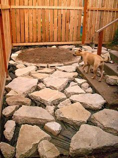 Patio Midway Through By Hiphomemaker, Recycled Concrete From Building  Teardown