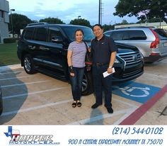https://flic.kr/p/KEpwt1 | Congratulations Sandra on your #Lexus #LX 570 from…