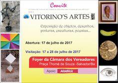 Joca Vitorino: Exposição de Artes Vitorino's