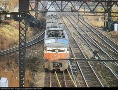 RailPictures.Net Photo: NH 377 New York, New Haven & Hartford Railroad GE EP4 at Devon, Connecticut by Donald Haskel
