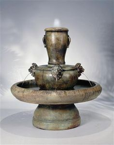 Lion Jug Outdoor Garden Fountain LO-5360F4