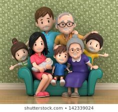 Find Render Grandparents Grandchildred stock images in HD and millions of other royalty-free stock photos, illustrations and vectors in the Shutterstock collection. Fondant Flower Cake, Fondant Bow, Fondant Toppers, Fondant Cakes, Fondant People, Chibi, Fondant Figures Tutorial, Clay Art Projects, Clay Figurine