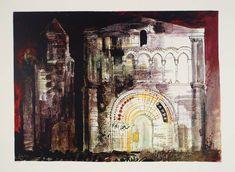 John Piper 'St Simon de Pelouialle', 1968 © The Piper Estate