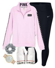 """""""when your sister writes 2012 as the date"""" by elizabethannee ❤ liked on Polyvore featuring NIKE, Natasha Couture, Converse and Kate Spade"""