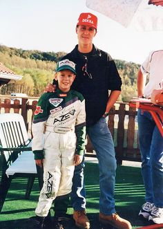 Michael Schumacher  Sebastian Vettel. The Great One  The Next One.
