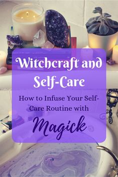 Witchcraft and Self-Care: Infuse Your Self-Care Routine With Magick! - witchcraft - Witchcraft and Self-Care: Infuse Your Self-Care Routine With Magick! Witchy Self-Care: Ten ways to make your self-care routine more magickal! Wiccan Witch, Wicca Witchcraft, Magick Spells, Kitchen Witch, Spiritual Practices, Self Care Routine, Book Of Shadows, Spelling, Herbalism