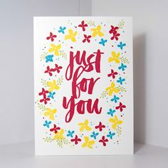 A Little Bit Of Sparkle!: Stampin' Up Hello & Just For You Cards
